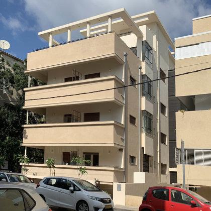 פרוג 42 | תל אביב - מבנה לשימור בסגנון הבינלאומי