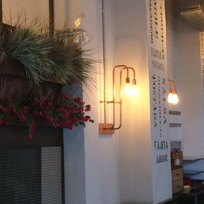 custom made copper wall light scones